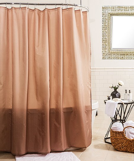 Linen Fabric Shower Curtain Liner