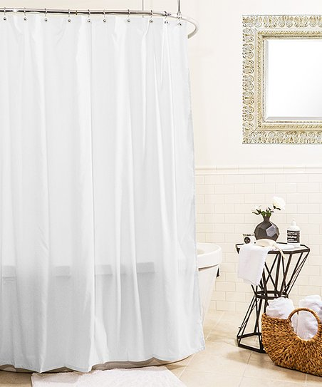 Love This Product White Hydro Microfiber Shower Curtain Liner