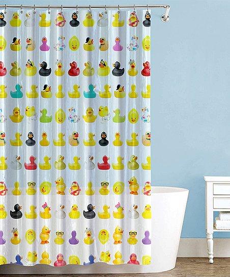 Splash Home Duckies Shower Curtain