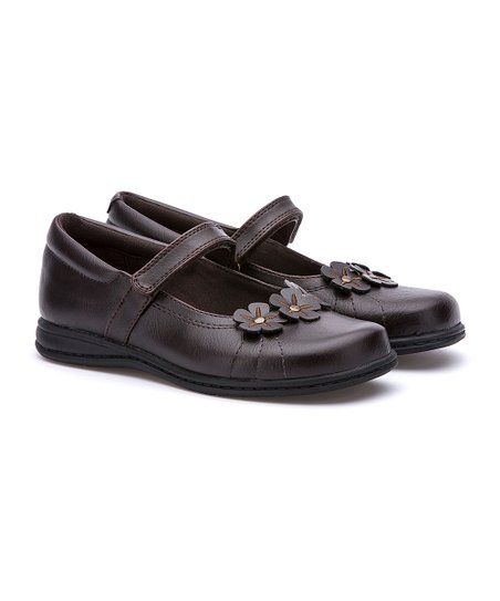 694bdb84aac9 Rachel Shoes Brown Kelsey Mary Jane - Girls