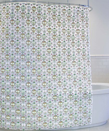 Love This Product Multi Skull Candy Shower Curtain