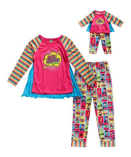 d192e81d4c58 love this product Pink   Yellow Pajama Set   Doll Outfit - Girls