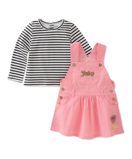 11bce02d7 Juicy Couture Pink Jumper & Stripe Tee - Infant   Zulily