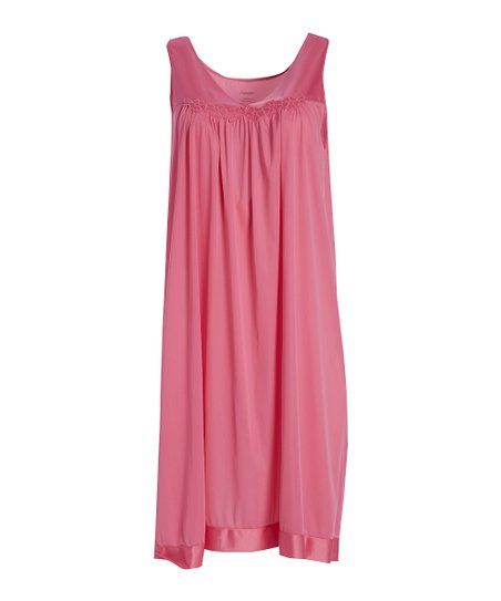 e41943a355 Exquisite Form Rose Sleeveless Nightgown - Women   Plus