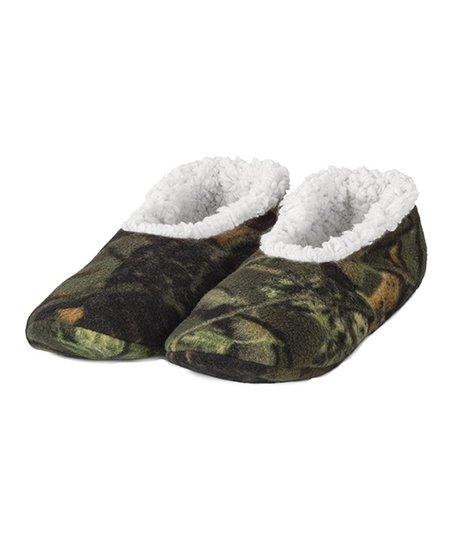 e4c2f537f2114 Trailcrest Sand Camo Romanta Fleece Slipper - Newborn, Infant, Toddler &  Boys