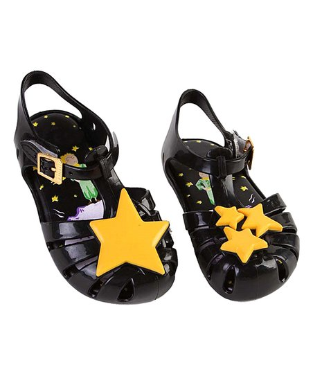 602c4ae5d6e9 love this product Black Star Jelly Sandal