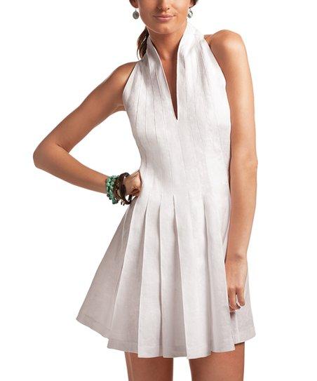 cc7626289 Island Company White Exodus Linen Dress   Zulily