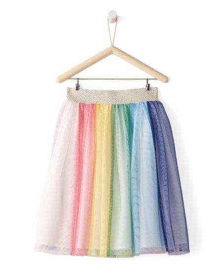 1af3c62ac76e Hanna Andersson Rainbow Tea Length Tulle Skirt | Zulily