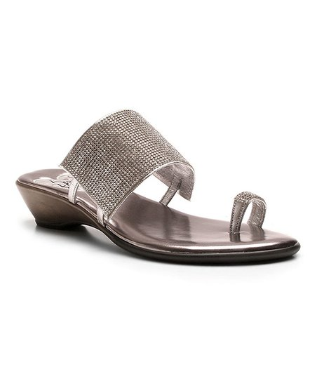e00bdf1c217d Love and Liberty Silver Crystal Symone Sandal