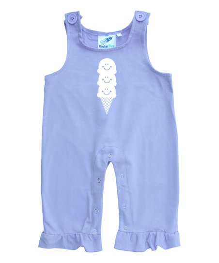 Baby and Toddler Overalls-Ice Cream Cone