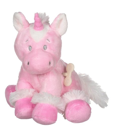 Ganz Pink Sweet Iris Unicorn Wind Up Plush Zulily