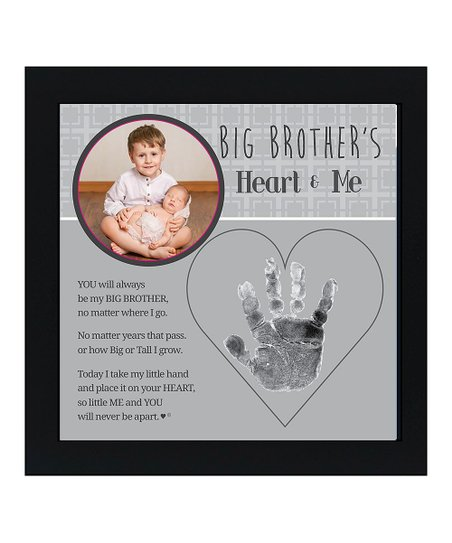 Grandparent Gift Company Big Brother And Me Handprint Frame Zulily