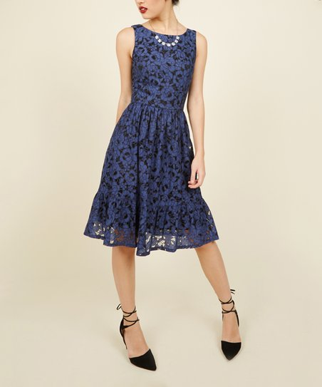 9123d0b1705 love this product Navy One for the Honey Lace Dress