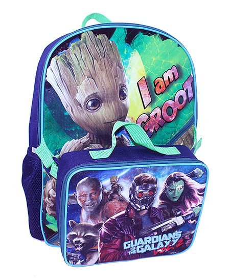 5656af970e Global Design Guardians of the Galaxy I Am Groot Backpack   Lunch ...