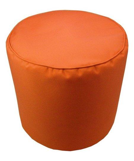 Surprising Lava Pillows Melon Sunbrella Indoor Outdoor Pouf Machost Co Dining Chair Design Ideas Machostcouk