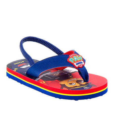 a610e66f86cd1 love this product PAW Patrol Blue Flip-Flop
