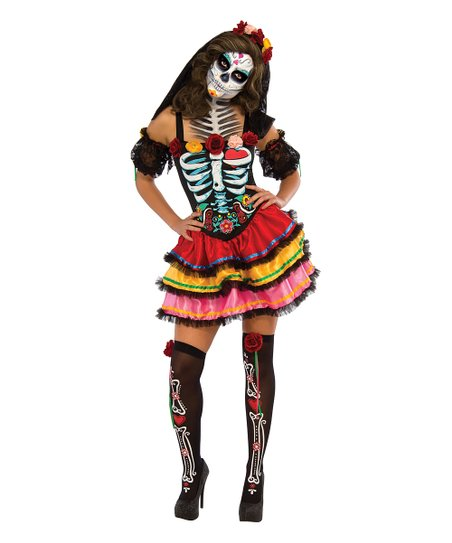 Day Of The Dead Señora Costume   Women