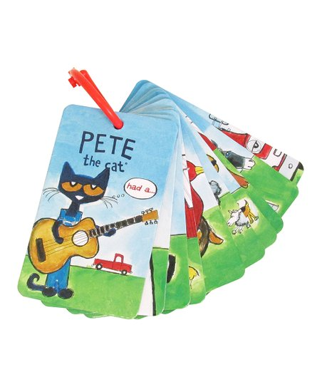 Kids Preferred Pete The Cat Sight Word Flashcard Set