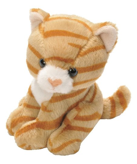 Wild Republic Lil Cuddlekins Lils Orange Tabby Cat Plush Toy Zulily