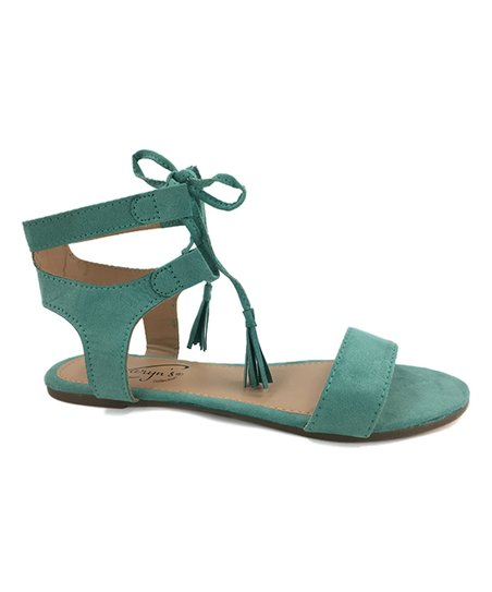 c2fab643c63d Love this product teal tassel gladiator sandal women jpg 452x543 Teal  sandals women