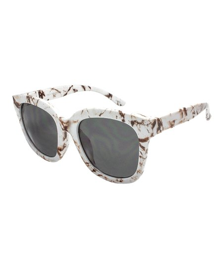 6c9698381f Ego Eyewear Brown   Black Marble Square Frame Sunglasses