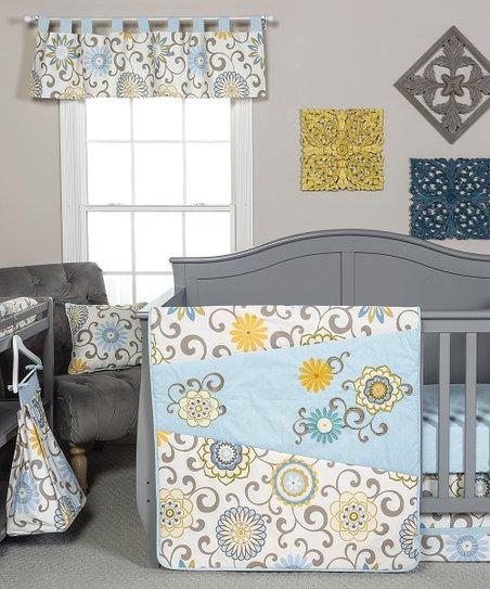 Trend Lab Waverly Pom Pom Four Piece Crib Bedding Set Zulily