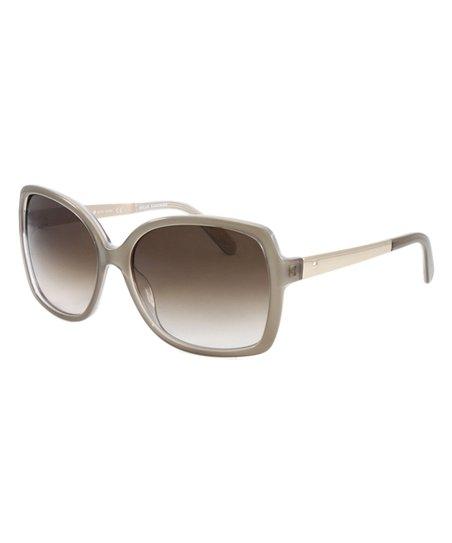 af98ff425970a Kate Spade Brown Darilynn Oversize Gradient Sunglasses
