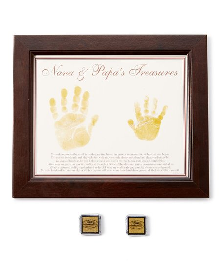 Grandparent Gift Company Nana Papa Treasures Frame Zulily