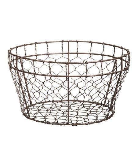 10 In Round Wire Basket - Info Wiring •