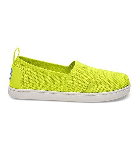 5d074e7b41a love this product Yellow Mesh Knit Classic Alpargata - Kids