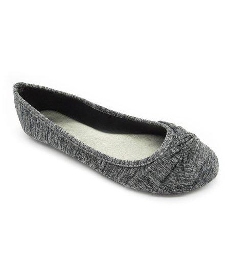 278967f665431 Blue Suede Shoes Heather Black Ziggs Ballet Flat