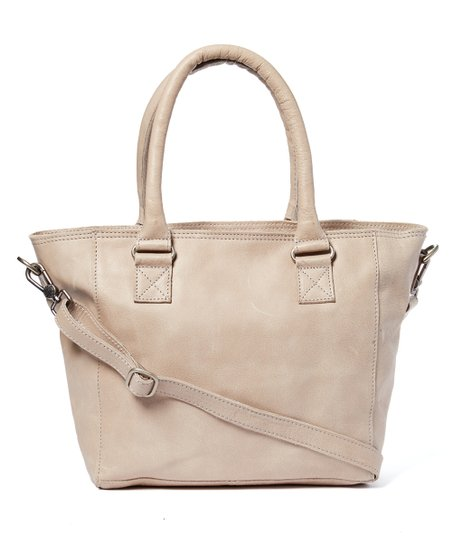 2b509e44766 Cowboysbag Chalk Classic Leather Convertible Tote | Zulily