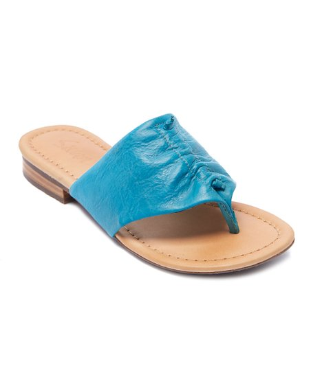 f9a27713293d love this product Turquoise Berry Leather Sandal - Women