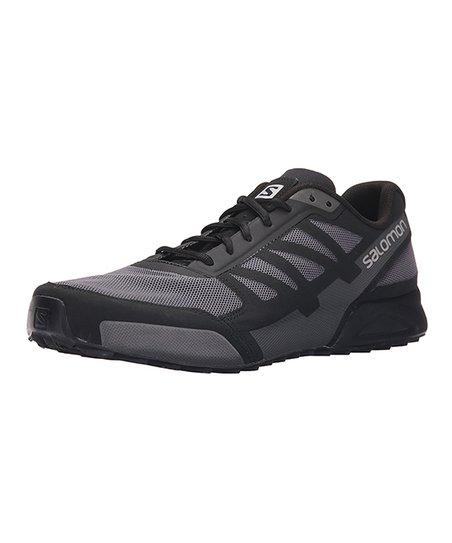 taille 40 b81d8 141b2 Salomon Detroit & Black City Cross Aero Running Sneaker