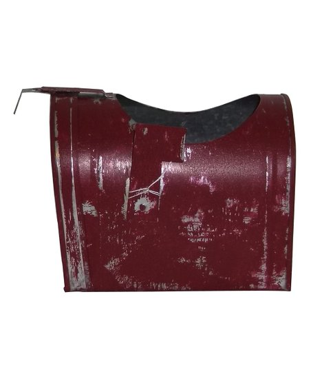 Kraft Klub Distressed Red Mailbox Planter Zulily