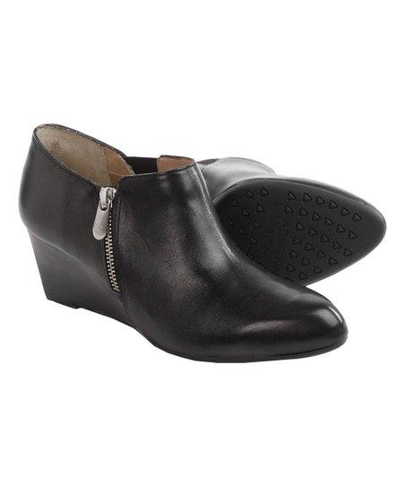 f0e7544857e Adrienne Vittadini® Black Midge Calf-Leather Bootie