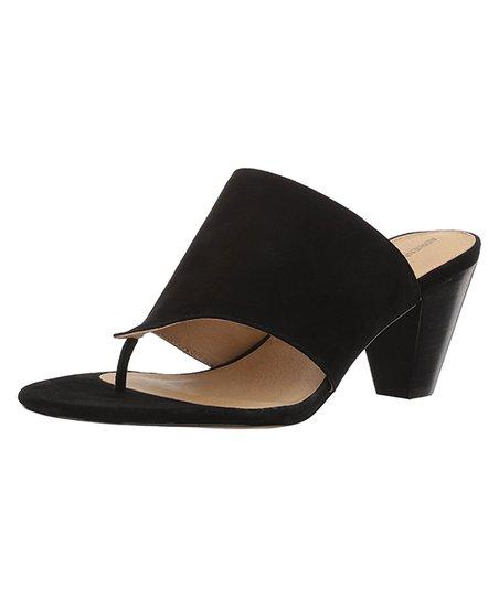 1dfc422c4b0c Adrienne Vittadini® Black Prusha Suede Sandal - Women