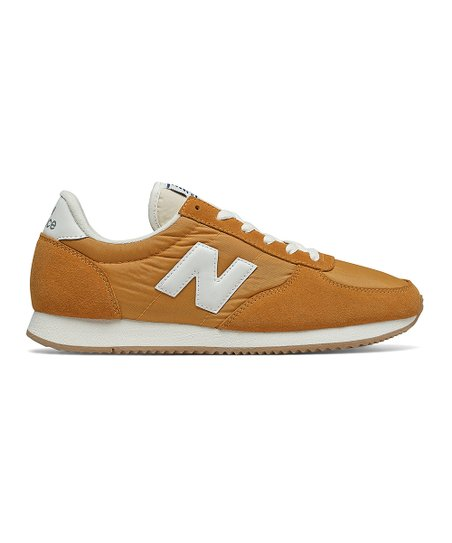 New Balance Yellow White 220 Classics Suede Sneaker Men Best Price And Reviews Zulily