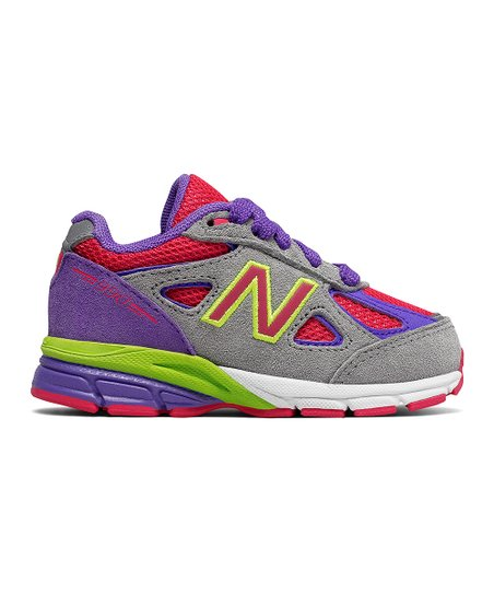 1b9eb3806f8 love this product Gray   Pink 990 Running Shoe - Infant   Toddler