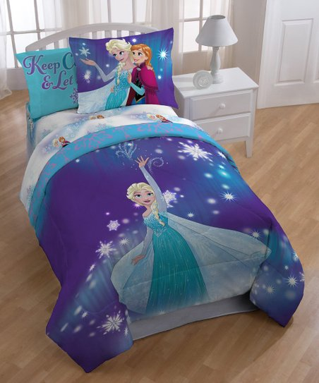 Jay Franco And Sons Frozen Magical Winter Full Bed In A Bag Zulily
