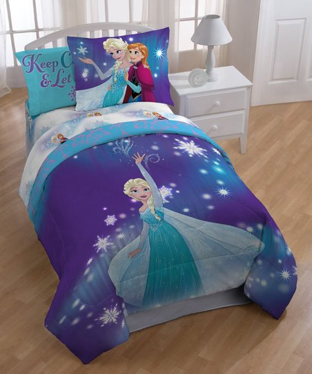 Jay Franco And Sons Frozen Magical Winter Twin Bed In A Bag Zulily