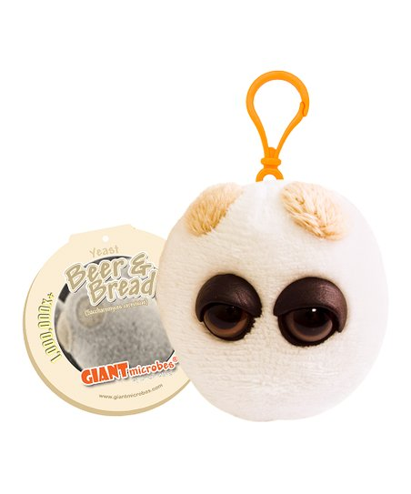 GIANTmicrobes Yeast Microbe Plush Key Chain  91c8ea2bd