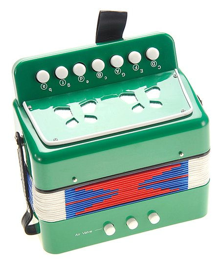 AZ Trading and Import Green Small Accordion