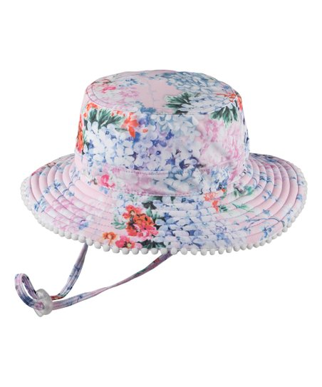 339fdb69 love this product Lavender & Pink Floral Reversible Bucket Hat - Toddler &  Girls