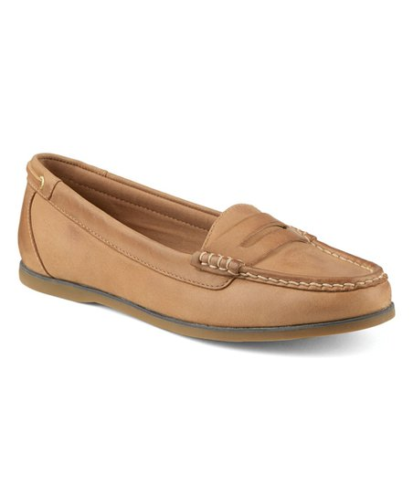 7113e5bfb18 Sperry Top-Sider Cognac Lanyard Row Leather Loafer - Women