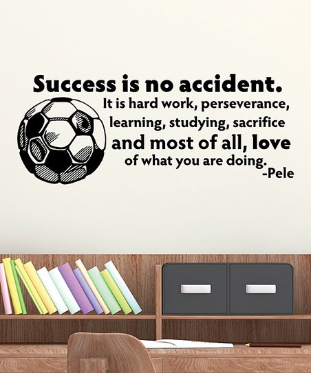 Wall Quotes By Belvedere Designs Black Success Is No Accident