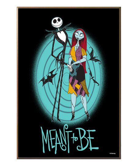 love this product Nightmare Before Christmas Jack & Sally Wood Wall Décor