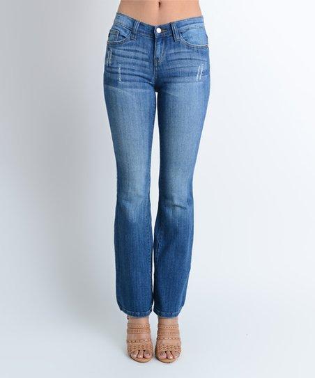 7010c0cfcd5 Judy Blue Medium Blue Lynette Bootcut Jeans - Plus | Zulily