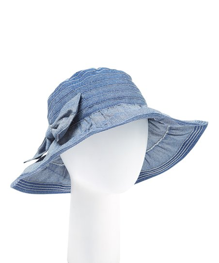 b7dfacf7c2c love this product Blue Ribbon Bow Bucket Hat