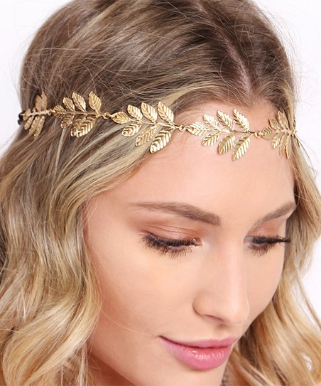 Riah Fashion Gold Boho Goddess Headband  9e6a6367332